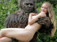 BigFoot fucks a girl