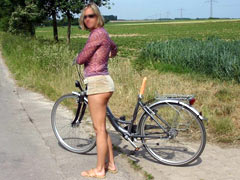 Sex dildo bike tirp