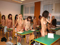 Orgy in the class