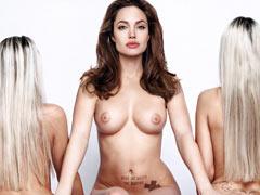Angelina Jolie lesbian sex