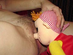 Fucked by a doll