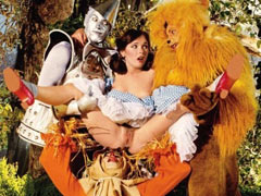 Dorothy in group sex