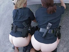 Fucking of female cops