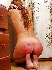 Real amateur punishment of wife for bad cooking and washing