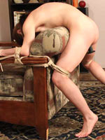 Evilyn in tight bondage