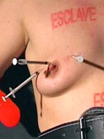 Syringes in the tits