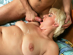 Blonde mature interested in new dick