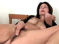 Classy mature lady got fucked in group sex