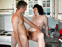 Mommy has fun with her lover